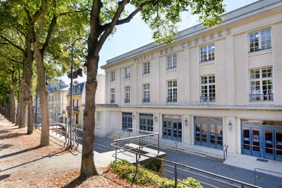 Palais des Congres de Versailles, colloque IFH 2020